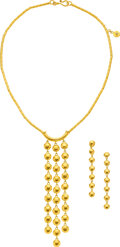 Estate Jewelry:Suites, Diamond, Gold Jewelry Suite, Gurhan. ... (Total: 2 Items)
