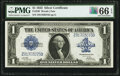 Large Size:Silver Certificates, Fr. 239 $1 1923 Silver Certificate PMG Gem Uncirculated 66 EPQ.. ...