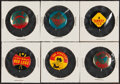 Baseball Cards:Lots, 1963 & 1964 Crane's Potato Chips Team Buttons Collection (35)....
