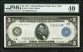 Large Size:Federal Reserve Notes, Fr. 851a $5 1914 Federal Reserve Note PMG Extremely Fine 40.. ...