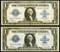 Fr. 237 $1 1923 Silver Certificate Very Fine-Extremely Fine; Fr. 238 $1 1923 Silver Certificate Very Fine-Extre