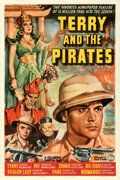 """Movie Posters:Serial, Terry and the Pirates (Columbia, 1940). Fine- on Linen. Stock One Sheet (27"""" X 41"""").. ..."""