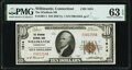 Willimantic, CT - $10 1929 Ty. 1 The Windham National Bank Ch. # 1614 PMG Choice Uncirculated 63 EPQ.</