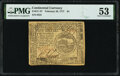 Colonial Notes:Continental Congress Issues, Continental Currency February 26, 1777 $4 PMG About Uncirculated 53.. ...