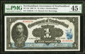 Canada St. John's, NF- Government of Newfoundland $1 2.1.1920 NF-12d PMG Choice Extremely Fine 45 EPQ