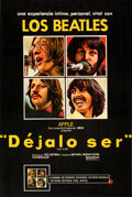 """Movie Posters:Rock and Roll, Let It Be (United Artists, 1970). Very Fine- on Linen. Full-Bleed Mexican One Sheet (25.5"""" X 38"""").. ..."""