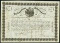 Confederate Notes:Group Lots, Ball 146a Cr. 109 $10,000 1861 Call Certificate Very Fine, CC.. ...