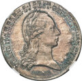 """Austria: Franz II (I) silver """"Tyrolean Defenders"""" Medal 1797-Dated MS66 NGC"""