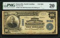 Statesville, NC - $10 1902 Plain Back Fr. 626 The First National Bank Ch. # 3682 PMG Very Fine 20.<