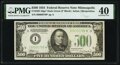 Small Size:Federal Reserve Notes, Fr. 2201-I* $500 1934 Federal Reserve Note. PMG Extremely Fine 40.. ...