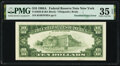 Error Notes:Inking Errors, Doubled Back Printing Error Fr. 2028-B $10 1988A Federal Reserve Note. PMG Choice Very Fine 35 EPQ.. ...