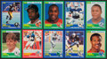 Football Cards:Sets, 1989 Score Football Complete Set (330) - Troy Aikman & Barry Sanders Rookie Year!...