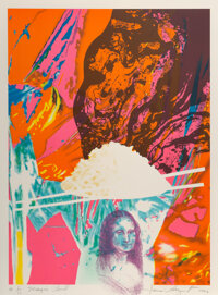 James Rosenquist (1933-2017) Magic Bowl, 1992 Lithograph in colors on Arches Cover paper 32-1/4 x