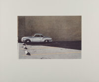 Robert Bechtle (b. 1932) Oakland Blue Ghia, 1979 Lithograph in colors on wove paper 23 x 28 inche