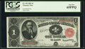 Fr. 352 $1 1891 Treasury Note PCGS Gem New 65PPQ
