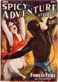 Pulps:Adventure, Spicy Adventure Stories - July 1936 (Culture) Condition: VG+....