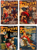 Pulps:Detective, Dime Detective Magazine Group of 9 (Popular, 1941-42) Condition: Average GD/VG.... (Total: 9 Items)