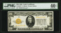 Small Size:Gold Certificates, Fr. 2402* $20 1928 Gold Certificate. PMG Extremely Fine 40 EPQ.. ...
