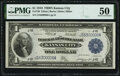 Fr. 739 $1 1918 Federal Reserve Bank Note PMG About Uncirculated 50