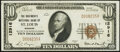 National Bank Notes:Missouri, Saint Louis, MO - $10 1929 Ty. 1 The Boatmen's National Bank Ch. # 12916 Very Fine.. ...
