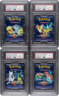 Memorabilia:Trading Cards, Pokémon Legendary Collection Set Sealed Booster Packs Group of 4 (Wizards of the Coast, 2002) PSA Graded.... (Total: 4 )