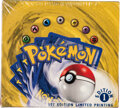 Memorabilia:Trading Cards, Pokémon First Edition Base Set Sealed Booster Box (Wizards of the Coast, 1999). ...