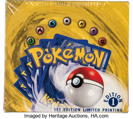 Pokémon First Edition Base Set Sealed Booster Box (Wizards of the Coast, 1999). ...