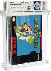 Super Mario World - Wata 9.0 B+ Sealed [Made in Japan, No Warranty], SNES Nintendo 1991 USA