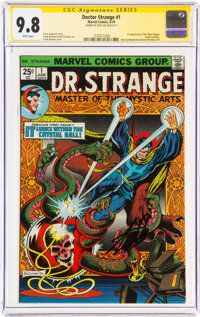 Doctor Strange #1 Signature Series: Stan Lee (Marvel, 1974) CGC NM/MT 9.8 White pages