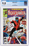 Modern Age (1980-Present):Superhero, Nightcrawler #1 (Marvel, 1985) CGC NM/MT 9.8 White pages....