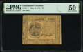 Continental Currency May 10, 1775 $7 PMG About Uncirculated 50