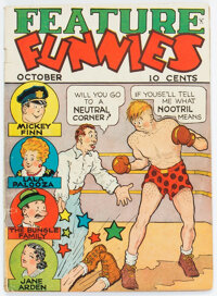 Feature Funnies #1 (Chesler, 1937) Condition: VG