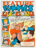 Golden Age (1938-1955):Humor, Feature Funnies #14 (Chesler, 1938) Condition: VG+....