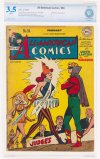 All-American Comics #94 (DC, 1948) CBCS VG- 3.5 White pages