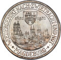 """Germany, Germany: Weimar Republic Proof """"Magdeburg"""" 3 Mark 1931-A Proof PR68 Cameo PCGS,..."""