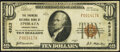 Ephrata, PA - $10 1929 Ty. 1 The Farmers National Bank Ch. # 4923 Very Fine