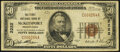 National Bank Notes:Pennsylvania, McKeesport, PA - $50 1929 Ty. 1 The First National Bank Ch. # 2222 Fine.. ...