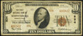 National Bank Notes:Pennsylvania, Shippensburg, PA - $10 1929 Ty. 2 The First National Bank Ch. # 834 Fine.. ...