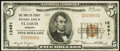 National Bank Notes:Missouri, Saint Louis, MO - $5 1929 Ty. 1 The Twelfth Street National Bank Ch. # 12491 Very Fine.. ...