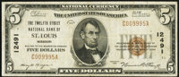 Saint Louis, MO - $5 1929 Ty. 1 The Twelfth Street National Bank Ch. # 12491 Very Fine
