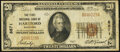 Hartford, WI - $20 1929 Ty. 1 The First National Bank Ch. # 8671 Very Good-Fine