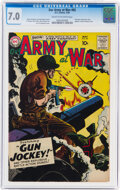 Silver Age (1956-1969):War, Our Army at War #82 (DC, 1959) CGC FN/VF 7.0 Cream to off-white pages....