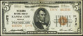 Kansas City, MO - $5 1929 Ty. 2 The Columbia National Bank Ch. # 11472 Extremely Fine