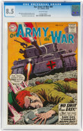 Silver Age (1956-1969):War, Our Army at War #89 (DC, 1959) CGC VF+ 8.5 Off-white pages....