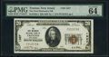 Trenton, NJ - $20 1929 Ty. 1 The First-Mechanics National Bank Ch. # 1327 PMG Choice Uncirculated 64 EP