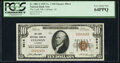 National Bank Notes, Cullman, AL - $10 1929 Ty. 1 The Leeth National Bank Ch. # 9614 PCGS Very Choice New 64PPQ.. ...