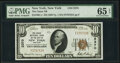 New York, NY - $10 1929 Ty. 1 The Chase National Bank Ch. # 2370 PMG Gem Uncirculated 65 EPQ