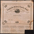 Confederate Notes:Group Lots, $100 1863 Bonds Including Trans-Mississippi Ball 217.. Ball 212 Cr. 120 VG, large moisture stain, damage, ink erosion;. ... (Total: 2 items)