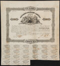 Confederate Notes:Group Lots, $500 1861 Bonds Fine.. Ball 93 Cr. 66;. Ball 98 Cr. 67. . ... (Total: 2 notes)