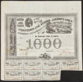 Confederate Notes:Group Lots, $1,000 1863 Bonds Fine.. Ball 201 Cr. 125;. Ball 210 Cr. 125A.. ... (Total: 2 items)
